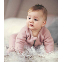 NITWMINO  WOOL BRUSHED LS SUIT B MINI