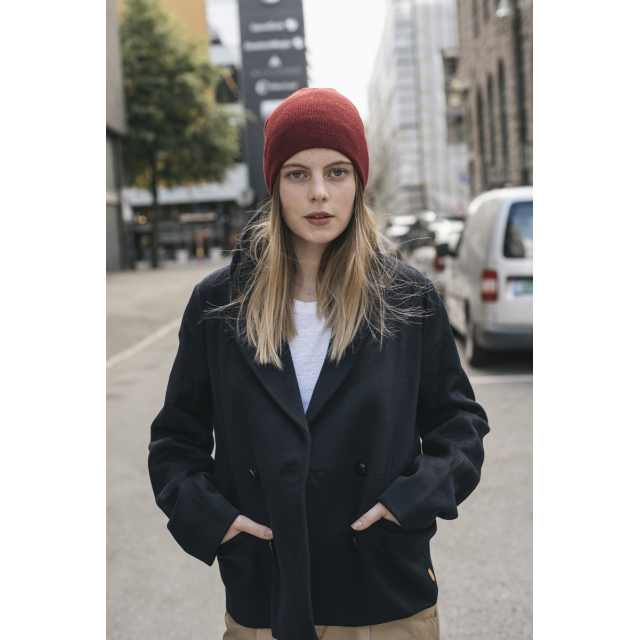 SHORT WOOL CAPTAIN'S PEACOAT