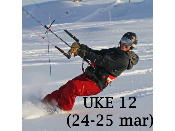 Haukeli - Uke 12 (24-25 mar)