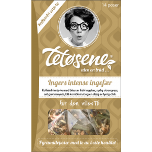 Ingers intense ingefær ~ tetøsene