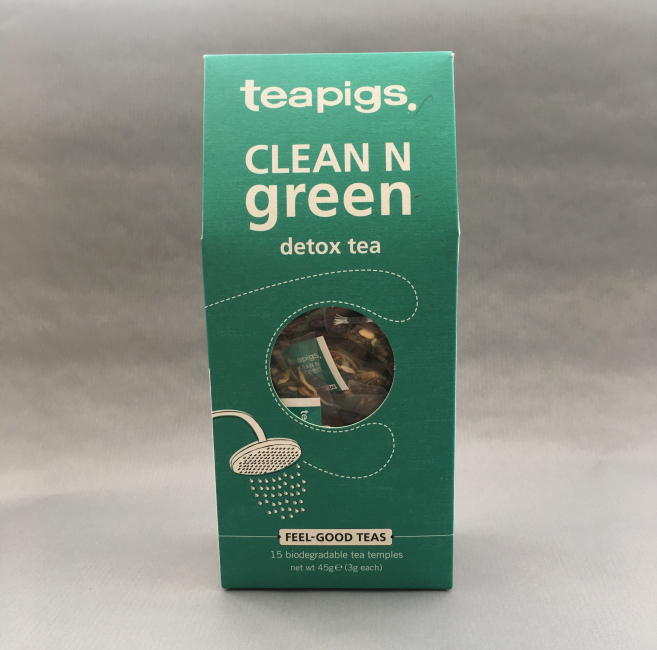 clean n green ~ detox tea