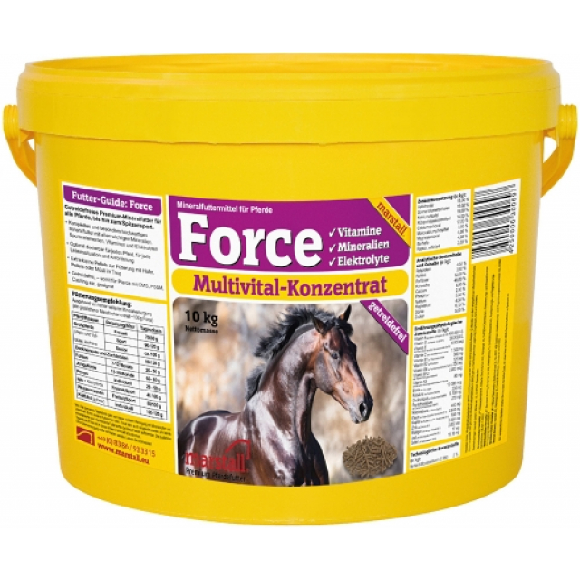 Marstall Force vitaminer 10kg