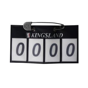 Nummerskilt med plass til 4 siffer