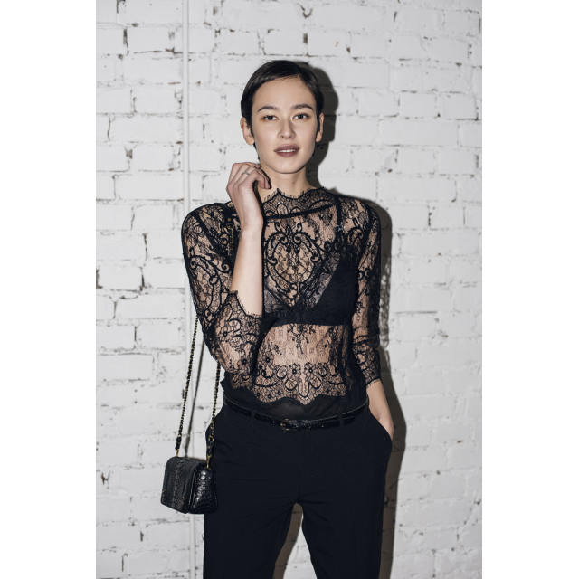JUPA HM LACE TOP