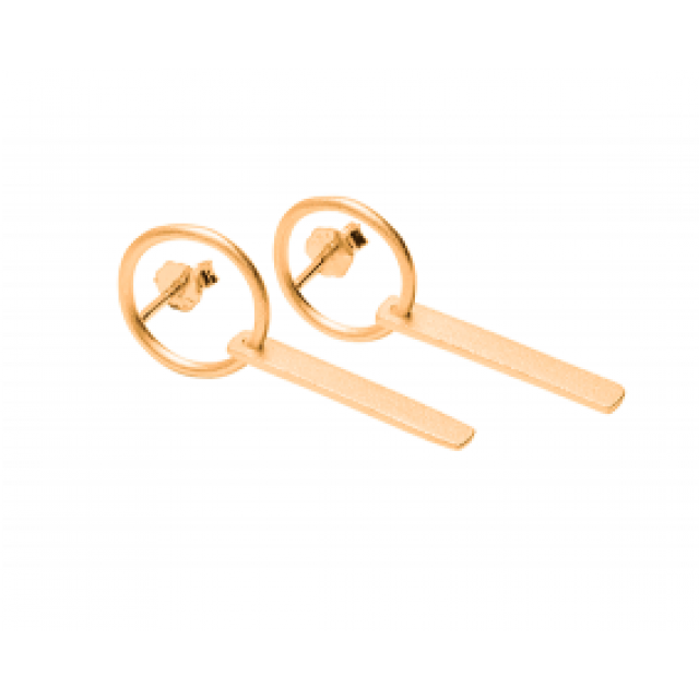 Hang Around Earring Gold