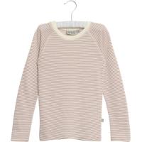 Wool T-Shirt LS Stripet