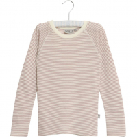 Wool T-Shirt LS Stripet