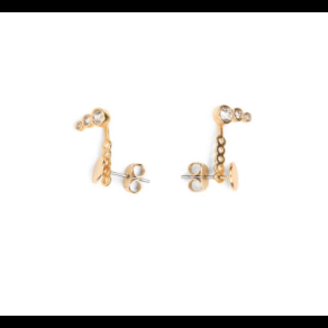 Crystal Plate Earrings