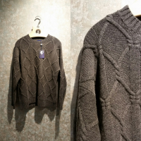 LIMITED COLLECTION Cashmere Cabel genser (Dame) Grå