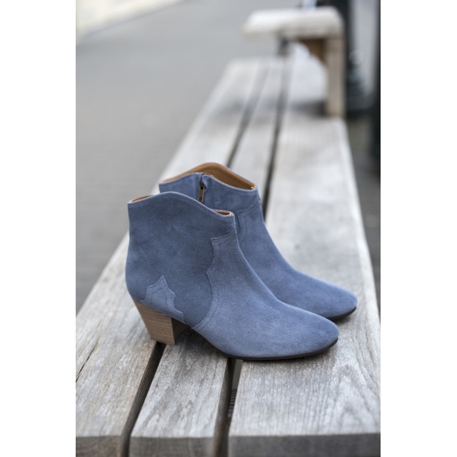 DICKER BOOTS BLUE