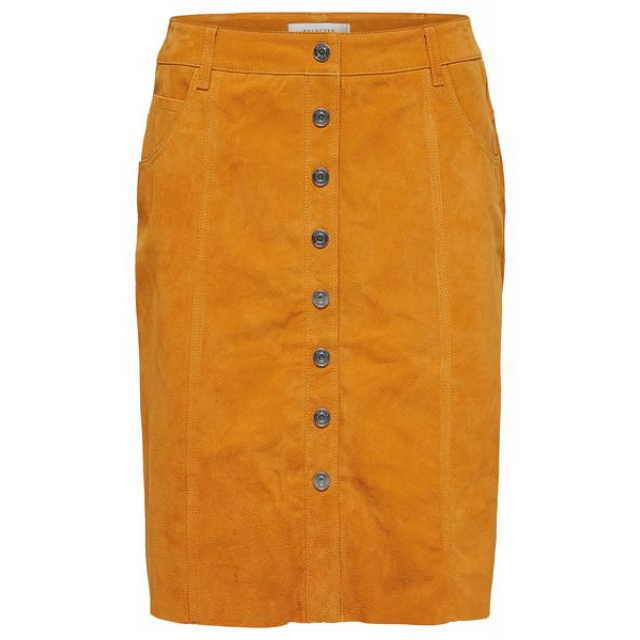 Atla Leather Skirt