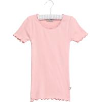 Rib T-Shirt Lace SS