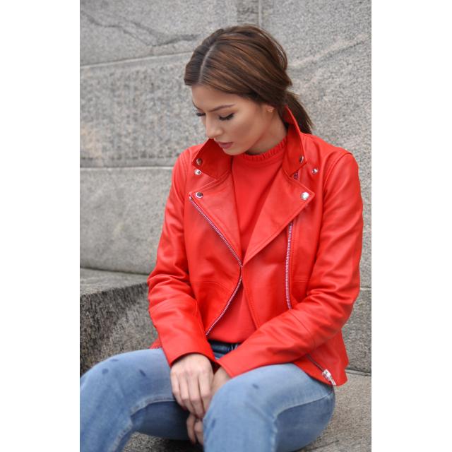 Sabine Leather Jacket