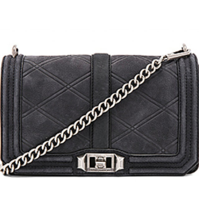Love Crossbody Semsket Quilted