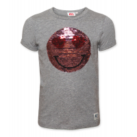 T- shirt glitter smiley
