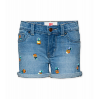 Denim 5-p Sequins Shorts