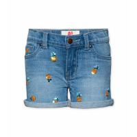 Denim 5-p Sequins Shorts