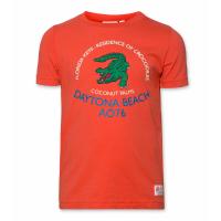 T-shirt C-neck Crocodile