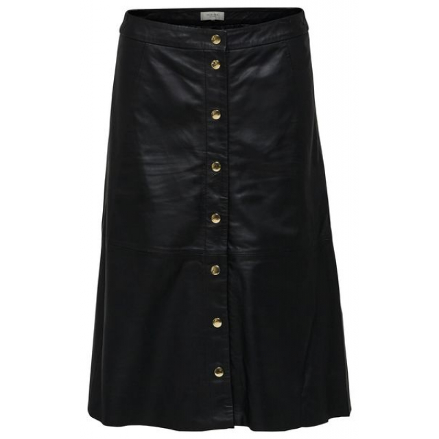 Sonja Leather Skirt