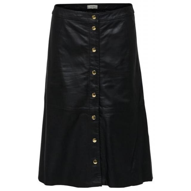 Sonja Leather Skirt