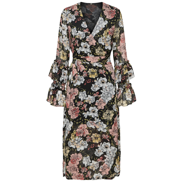 Cynthia Wrap Dress