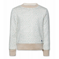 C -Neck Sweater Flower