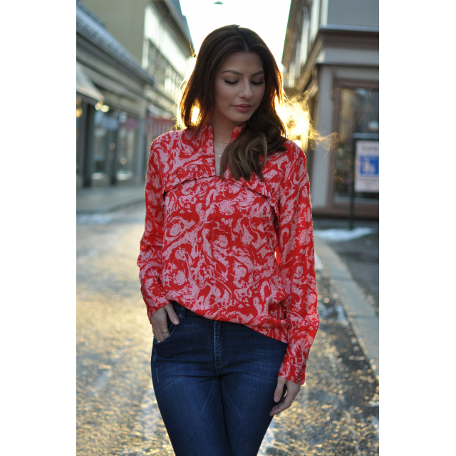 Marble Blouse