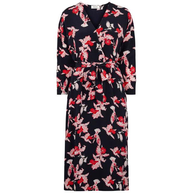 Fedora Print Dress