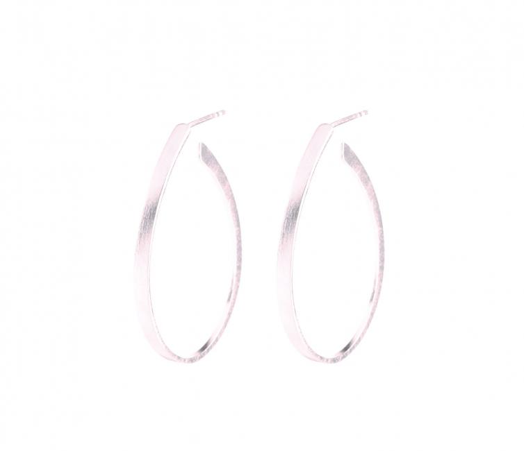 Oval Creoles øreringer