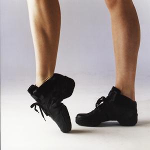 Dance sneakers, skinn