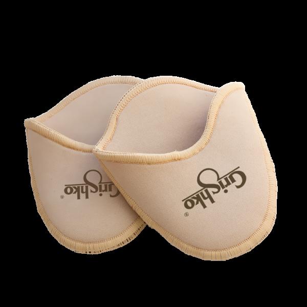Gel Point shoe pads in cotton - stor undersåle