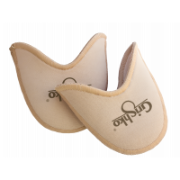 Gel Point shoe pads in cotton