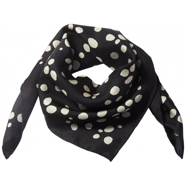 Dots Silk Scarf