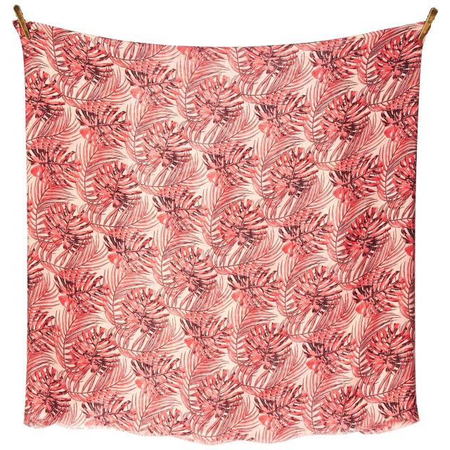 Palm Leaves Scarf