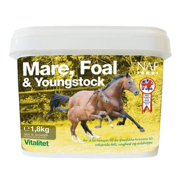 NAF Mare, Foal & Youngstock 1,8kg