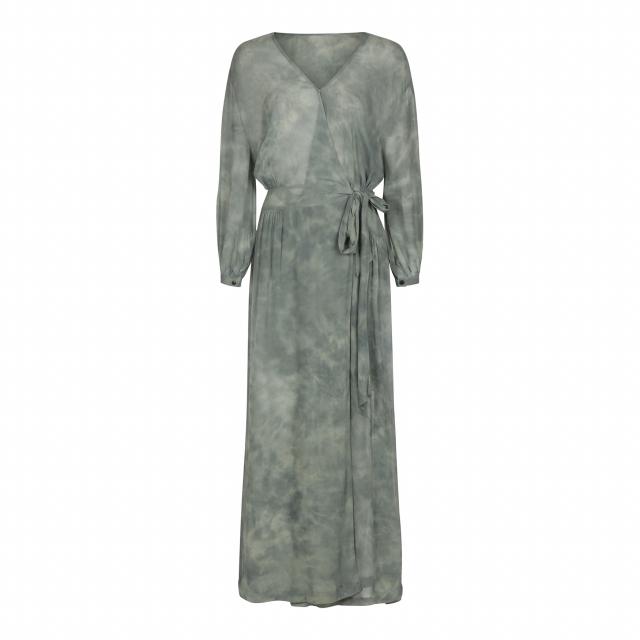 Savannah Cosmos kimono dress