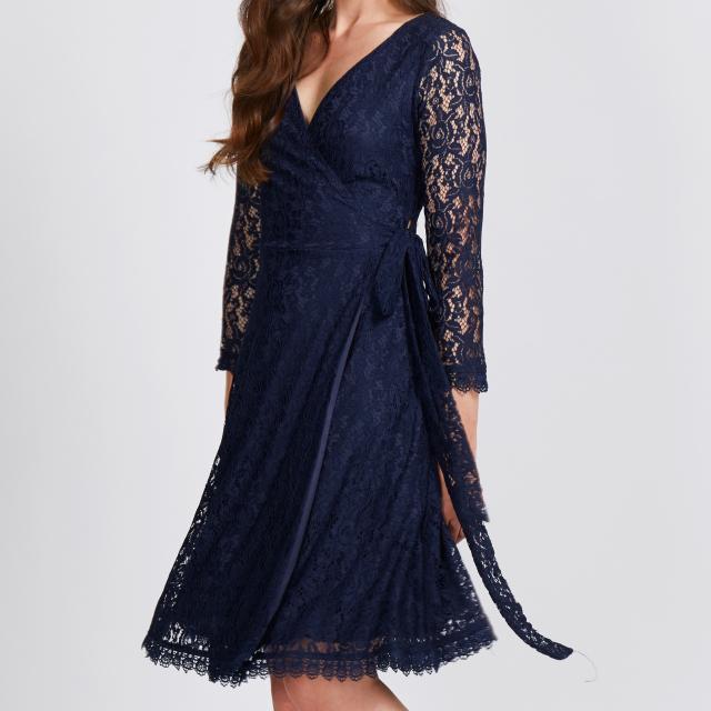 Joni Wrap Dress