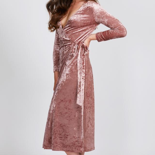 Sandy Wrap Dress
