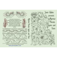 Jamie Wallen Mystical Florals Leaves and Vines DVD