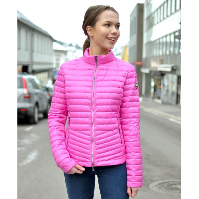 WOMEN'S DOWN JACKET WITH HIGH NECK - Punk