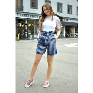 ANNY SHORTS - BLUE STRIPE