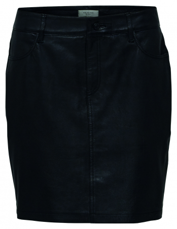 Jessie Leather Skirt
