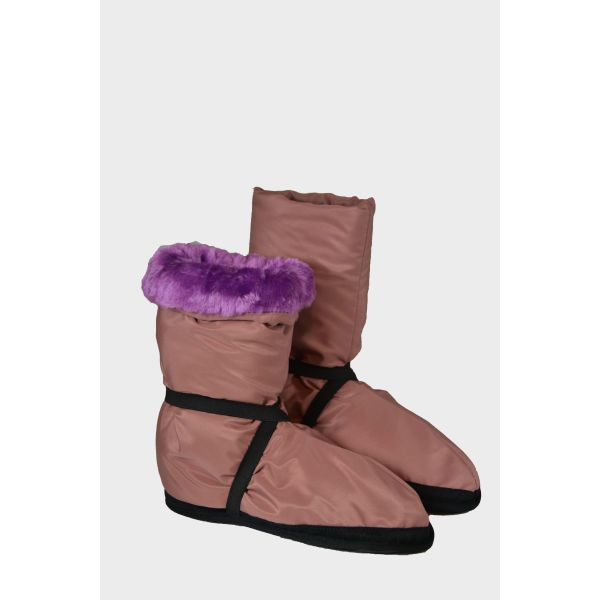 Warm up boots med strikk