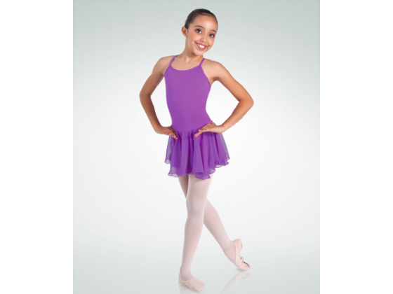 Ballettdrakt med skjørt