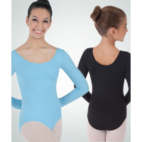 Long Sleeve Ballet Cut Leotard