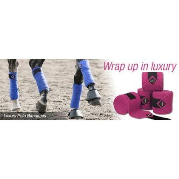 LeMieux Luxury polo bandages- Mange farger
