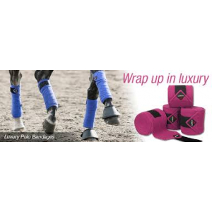 LeMieux Luxury polo bandages- Mange farger