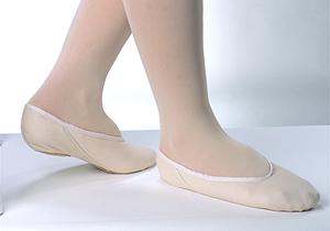 Grishko split sole, canvas