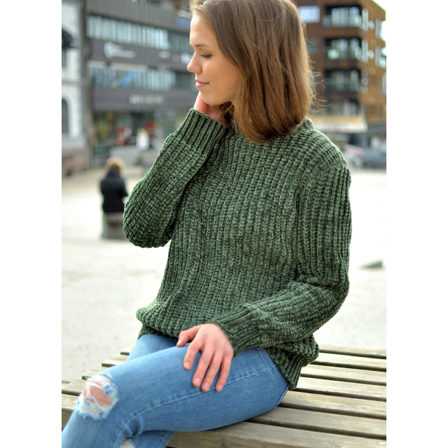 KIRA KNIT PULLOVER- DEEP DEPTHS