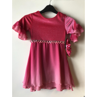 Magnolia Dress Fire Pink
